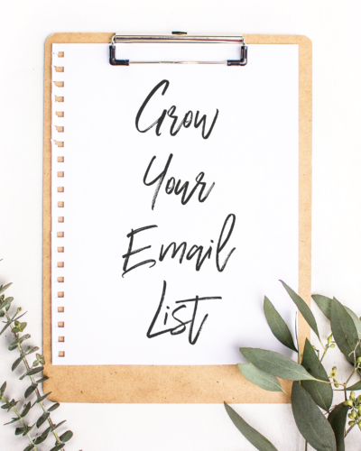 5 Proven Tactics to Grow Your Email List